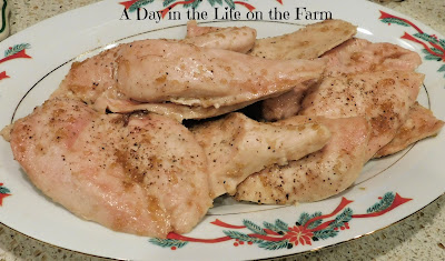 Pepper Jelly Glazed Chicken Breasts