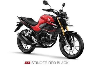 Verza CB150 Terbaru 2021 Setinger Red Black