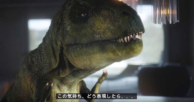【動画】現代に生きるティラノサウルスの苦悩を描いたアウディのCMが話題に!