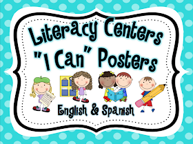 Literacy Centers Management & FREEBIE!