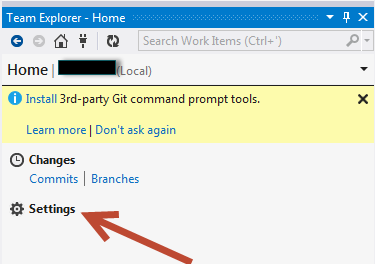 WhiteBoard Coder: Visual Studio 2012 Using a git Repository