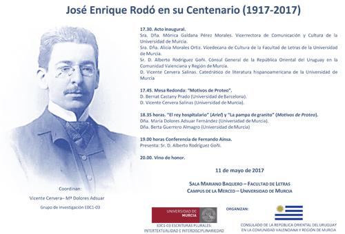 José Enrique Rodó en su Centenario (1917-2017)