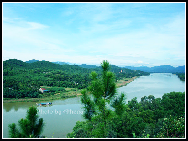 And quiet flows the Huong River 8