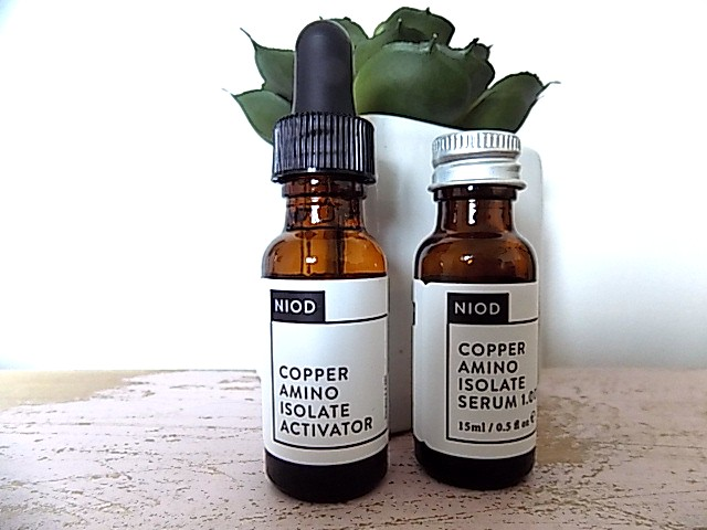 Niod from Deciem Copper Amino Isolate Serum 1%  + Niod Multi-Molecular Hyaluronic Complex