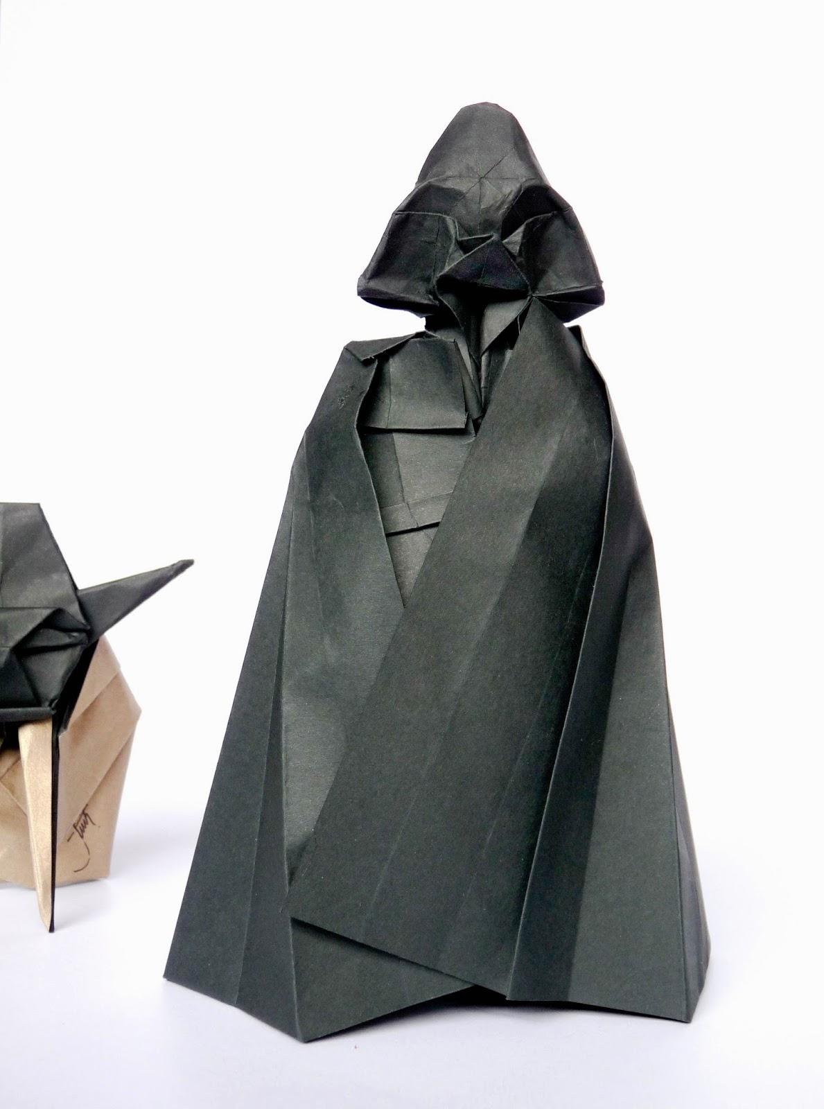 DIS.MITH: Darth Vader origami-star wars - photo#22