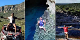Diego Costa curte férias na Chapada
