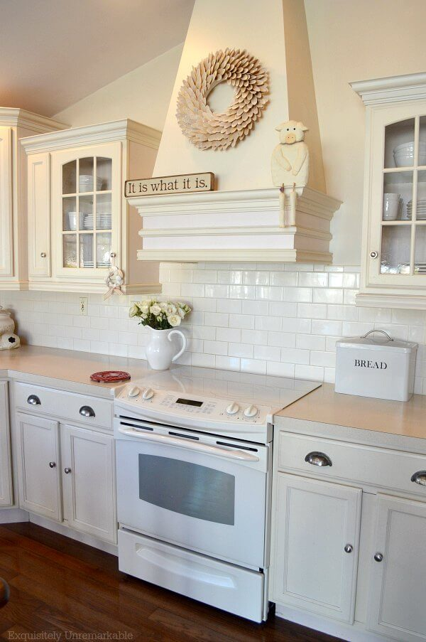 Cream Colored Kitchen