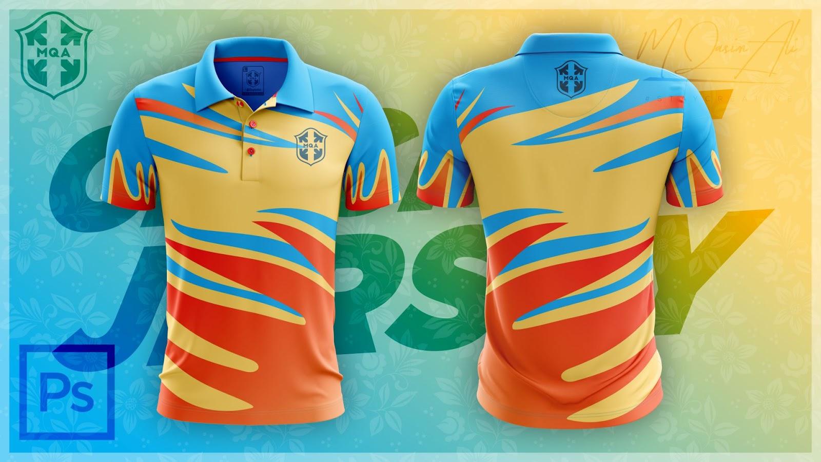 Download Best Cricket Jersey Design + Download PSD Mockup File for ...