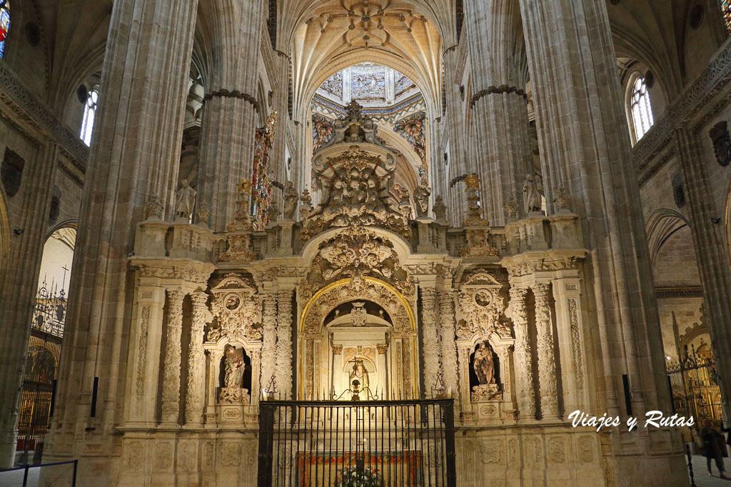 Trascoro de la Catedral Nueva de Salamanca