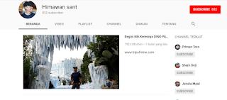 Himawan Sant, Contoh Blogger sekaligus Youtuber Traveling