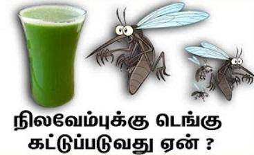 Does Nilavembu controls dengue? | Latest speech
