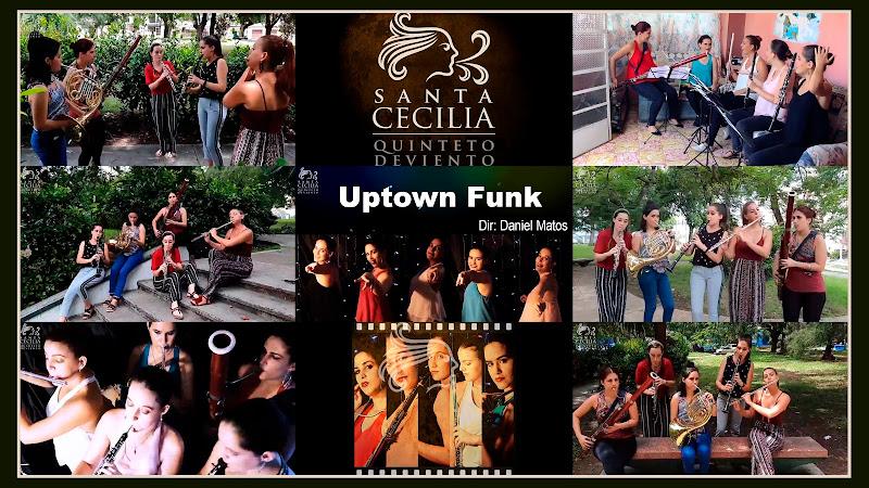 Quinteto Santa Cecilia - Uptown Funk (Bruno Mars) - Videoclip - Director: Daniel Matos. Portal Del Vídeo Clip Cubano. Música instrumental cubana. Cuba