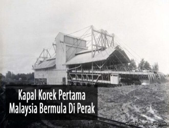 Sejarah Kapal Korek Di Malaysia