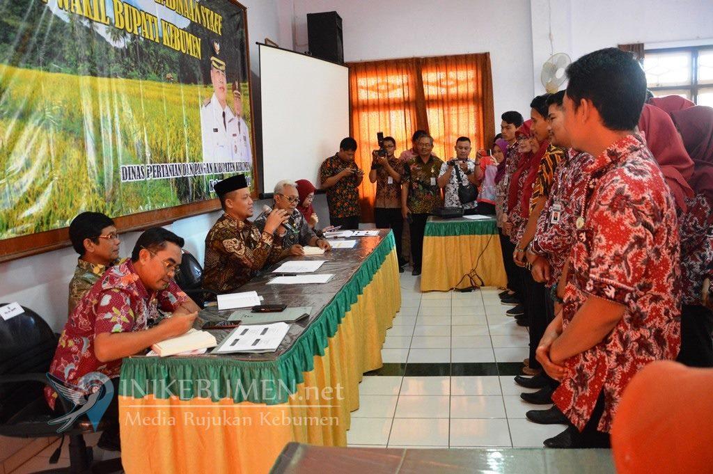 Minim Pendamping Pertanian PNS, Distapang Kebumen Rekrut 63 THL