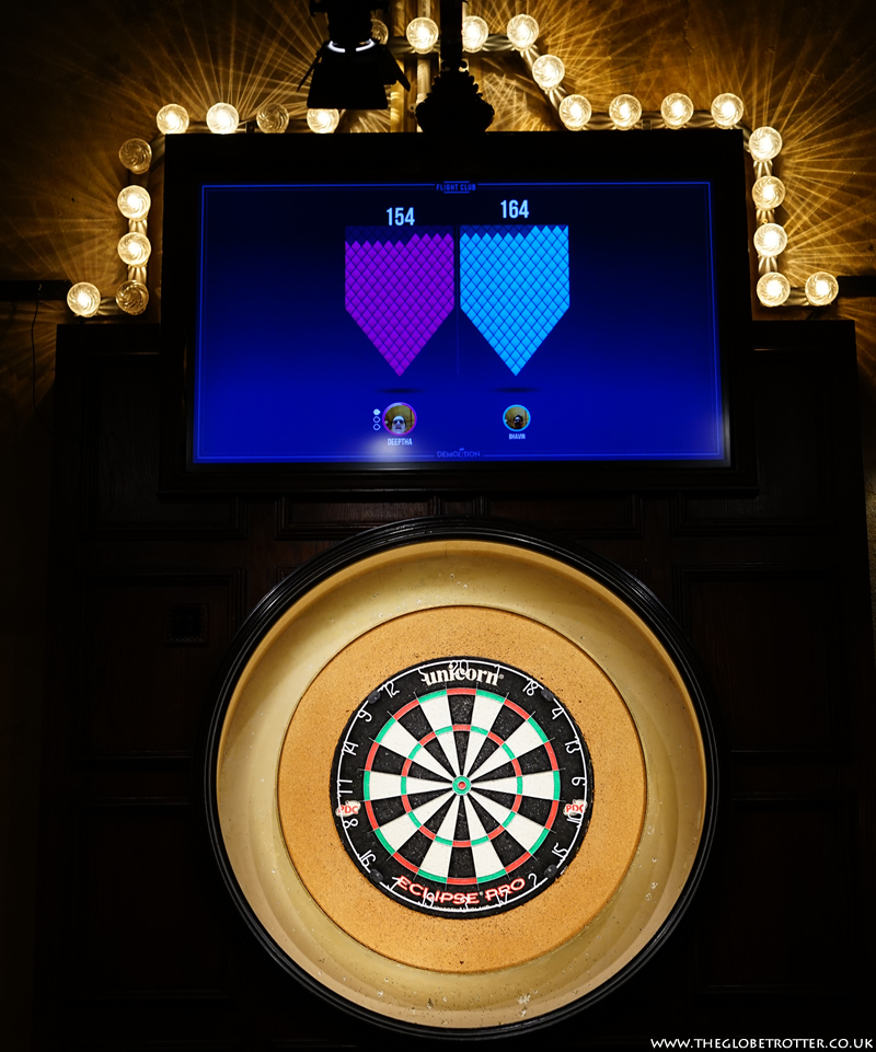 Flight Club Social Darts - Scoreboard