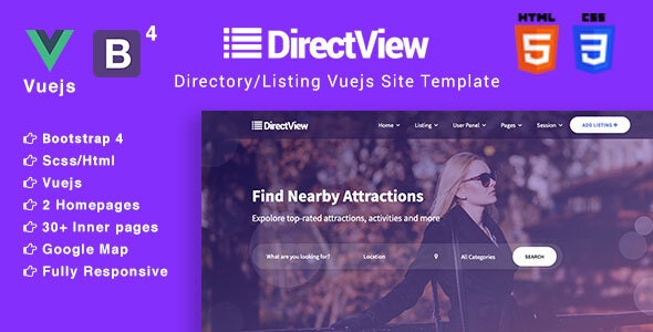 Directory & Listings Template