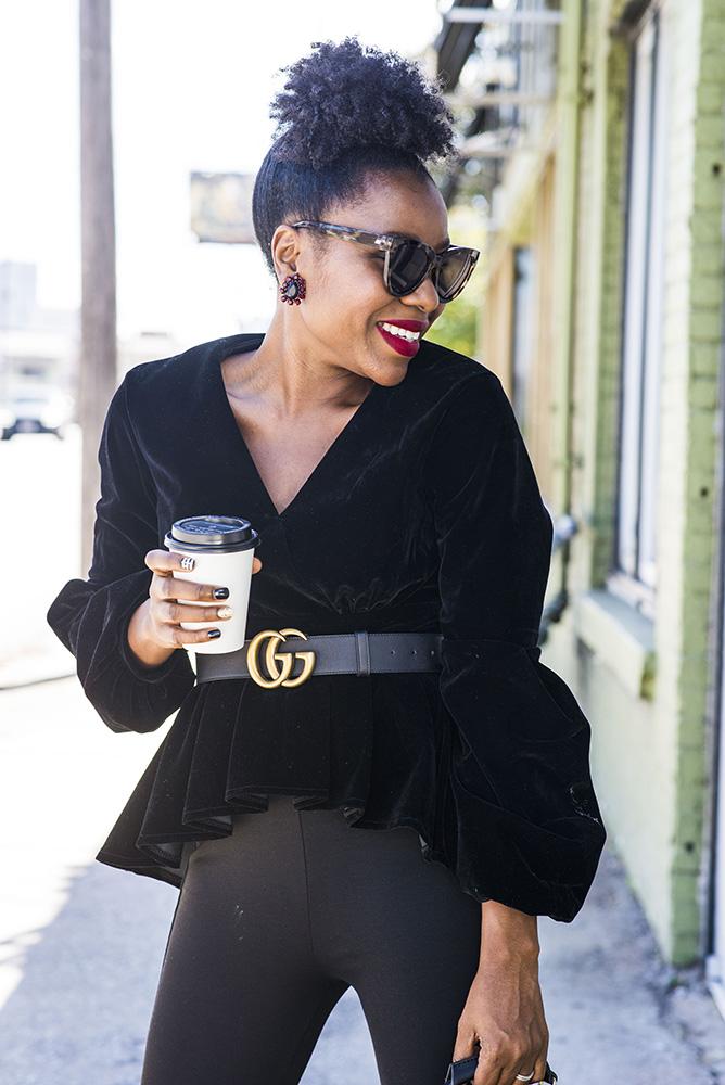 Fall Fashion Tops: Velvet by Asos