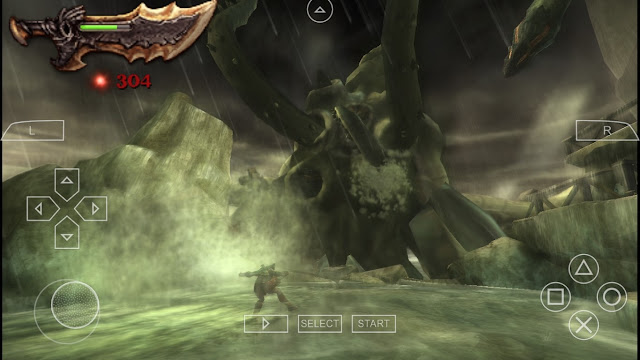 god of war ghost of sparta ppsspp android