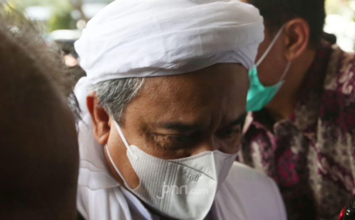 Respons Habib Rizieq soal FPI Dikaitkan dengan ISIS, Ada Kata Keji dan Menggelikan
