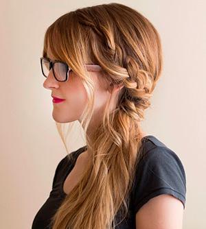 Model Kepang Rambut Panjang Kepang Kesamping Kepang Dua Kepang - Gaya rambut pendek kepang