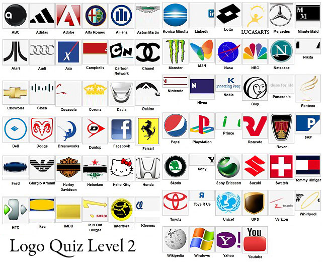 PZ C: logo quiz answers