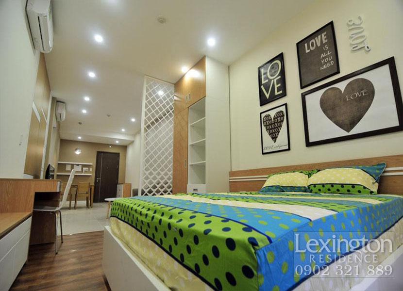 Căn hộ Lexington 1 phòng ngủ nội thất và View bao đẹp cần cho thuê