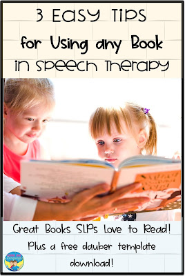 Tips for how to build your skills for mixed groups using books in speech therapy from Looks Like Language.