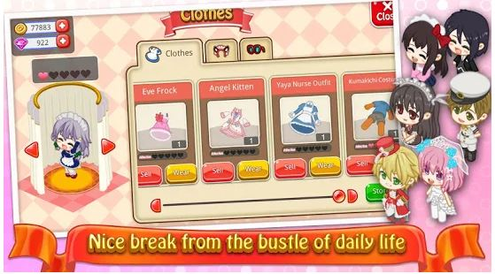 Download Moe Girl Cafe 2 MOD APK 1.33.63 (MOD Money/Diamonds) For Android 3