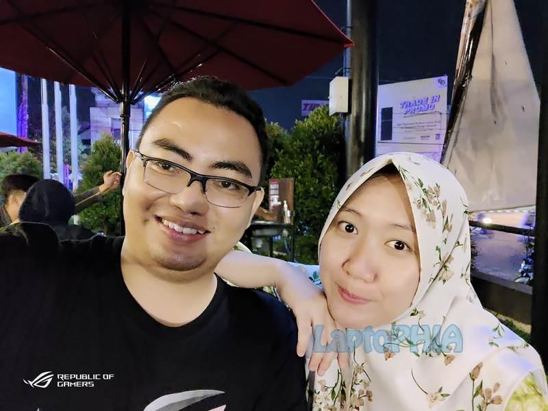 Hasil Foto Kamera Depan Asus ROG Phone 3 ZS661KS