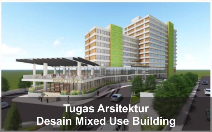 desain mixed use building