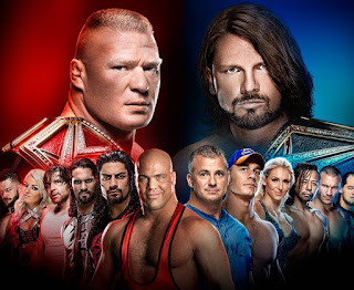 2017 Survivor Series Advertising