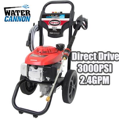 Honda GCV160-160cc-Axial Cam Pump-2.4GPM-3000PSI