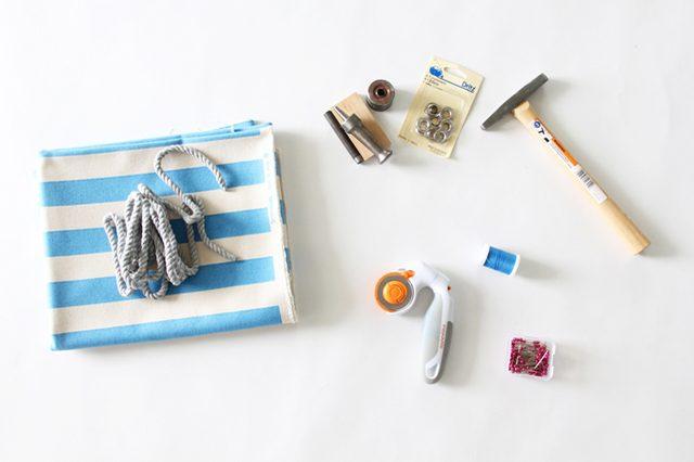 el yapımı plaj çantası