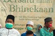 Ketua Umum Sunda Kelapa Heritage Hadiri Giat Santunan Komunitas Kampung Cacing (KKC)