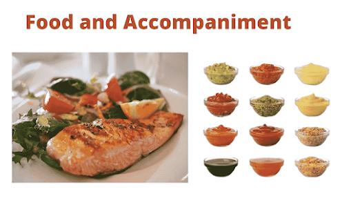 food and accompaniment
