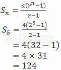 Jumlah 5 suku pertama barisan geometri, UN SMP 2016