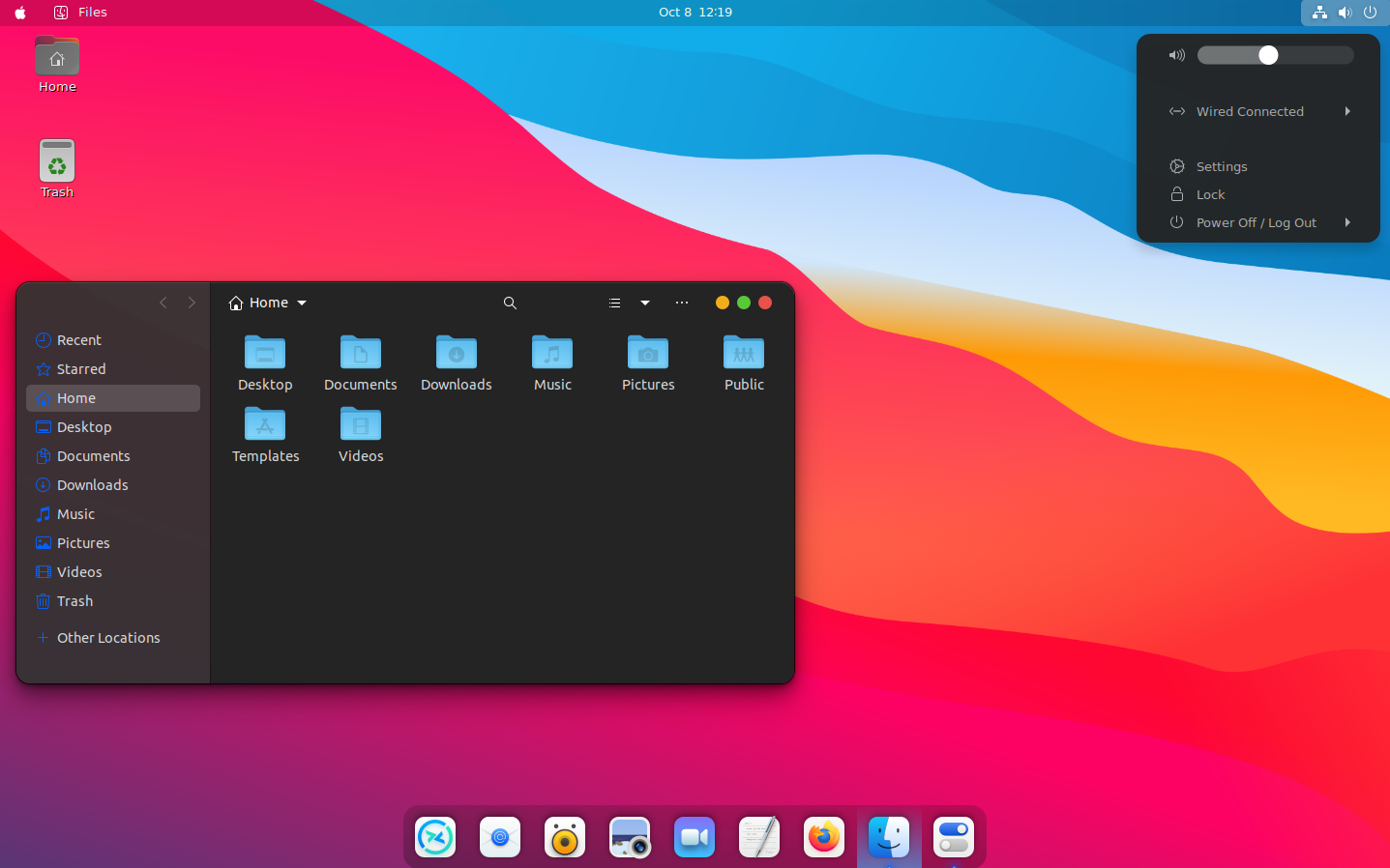 The name starts with z, but it is the first one in the list of the linux distributions with the best user interface. Whitesur Macos Big Sur Like Gtk Gnome Shell And Icon Themes For Your Linux Desktop Linux Uprising Blog