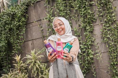 mandi keharuman vitalis perfumed moisturizing body wash