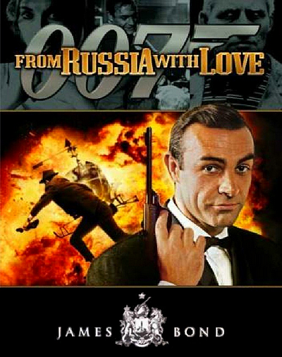 From Rrussia with love • James Bond 007 movie