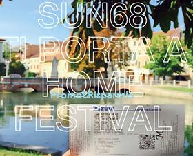 Logo SUN 68 ti porta all' Home Festival