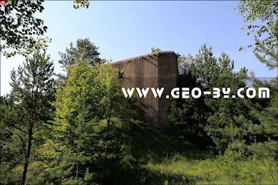 Третий полукапонир у деревни Великая Раёвка