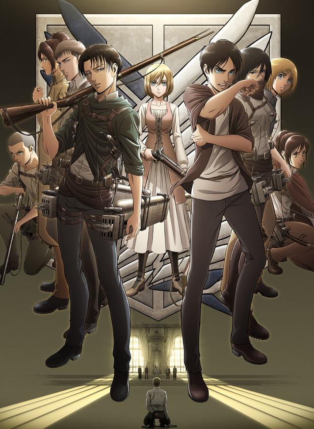 Shingeki no Kyojin: Fecha de su tercera temporada y tráiler