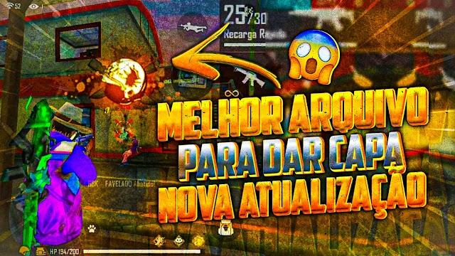✅NOVO ARQUIVO DA NOVA ATUALIZAÇÃO SUBINDO 95% CAPA NO FREE FIRE!!