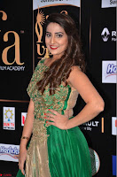 Manjusha in Beautiful Sleeveless Green Anarkali dress at IIFA Utsavam Awards 25.JPG