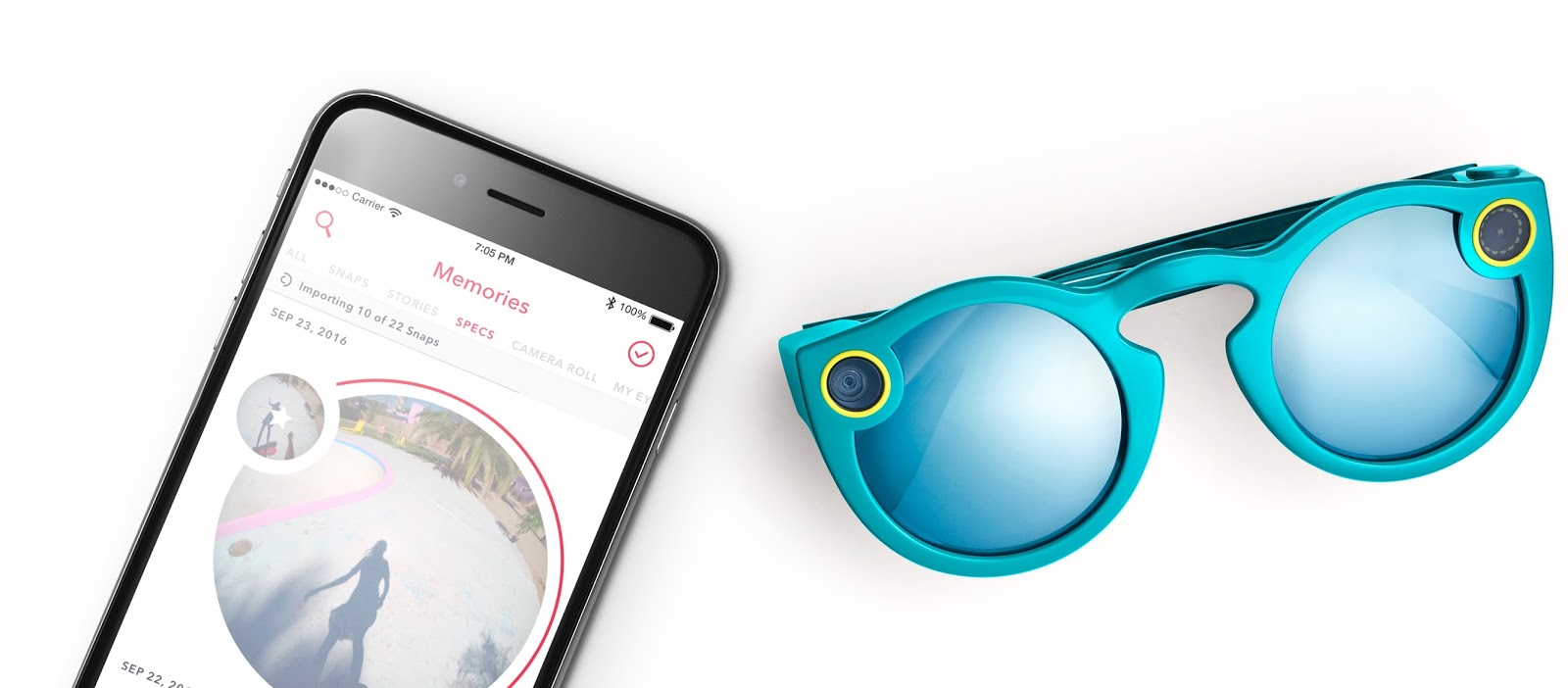 5d4d049c84a Snapchat s video-capturing Spectacles can now be purchased online ...
