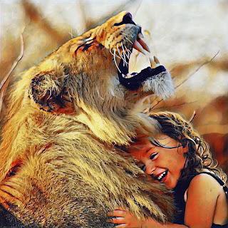cute lion whatapp dp images