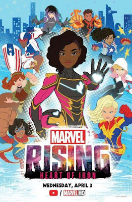 Marvel Rising Heart Of Iron 2019 Custom HD Latino