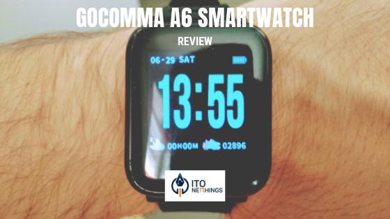 Gocomma A6 Sports SmartWatch Review