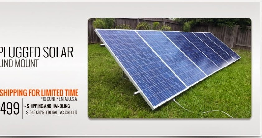 What about DIY plug and play solar panel kits