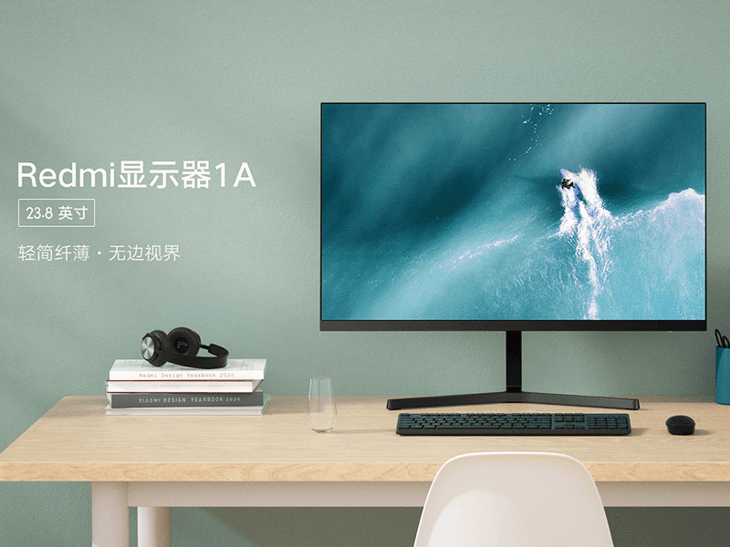 Redmi Display 1A 23.8-inch IPS FHD monitor now official!
